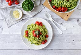 Green Herb Pesto Pasta