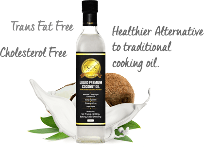 LCO Coconut Oil Bottle