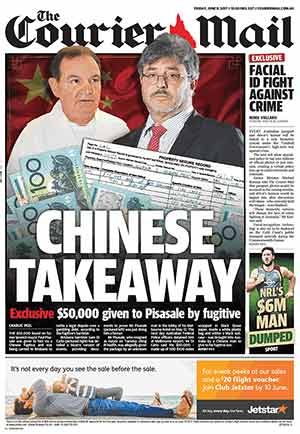 CourierMail_09June2017_Cover