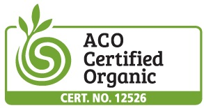 ACO certified organic product