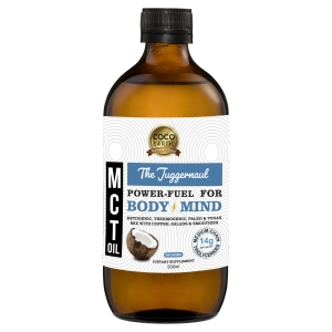 The Juggernaut Coconut MCT oil