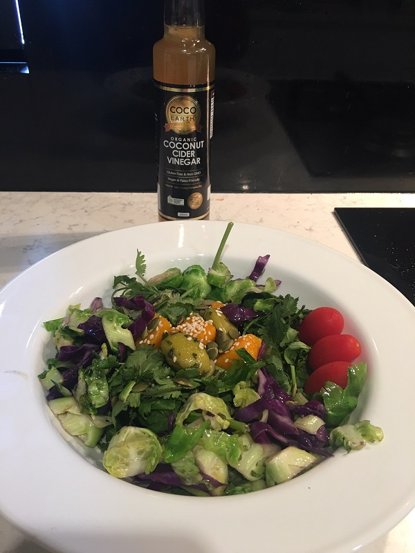 image of superfood green salad