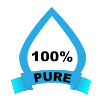 icon of 100% pure