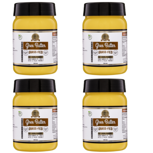 Pack of four Grass-Fed Ghee Butter