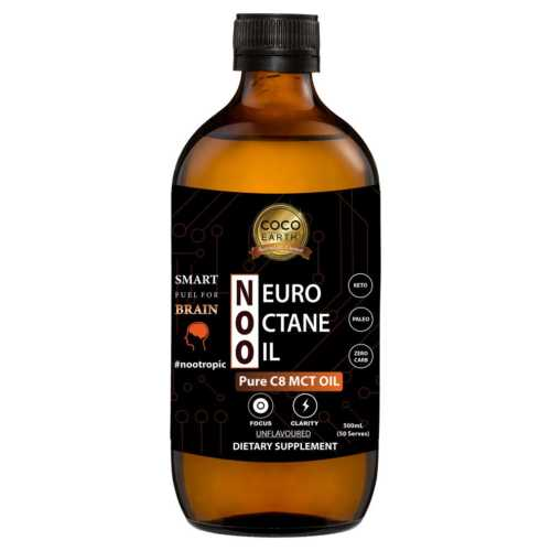 Neuro Octane Oil 500ml pure C8 mct oil