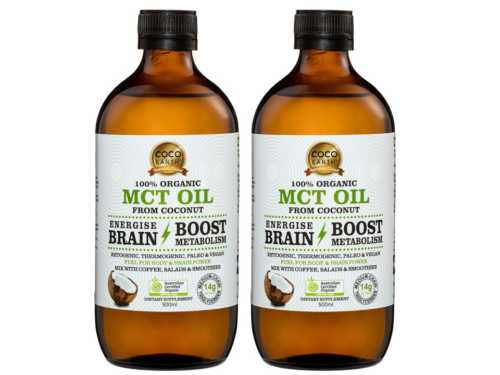Organic MCT oil twin pack