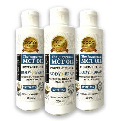 MCT Oil Pack of 3 x 250ml