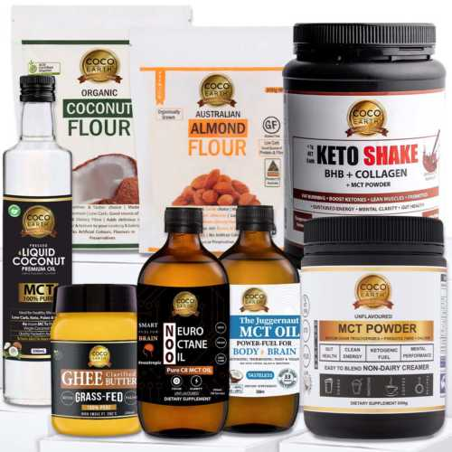 Best Keto bundle by coco earth