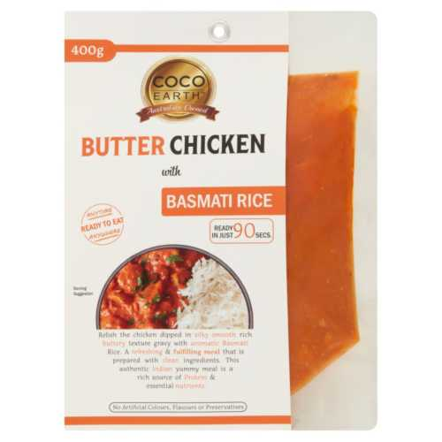Coco Earth Butter Chicken Meal