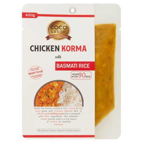 Chicken Korma with Basmati Rice