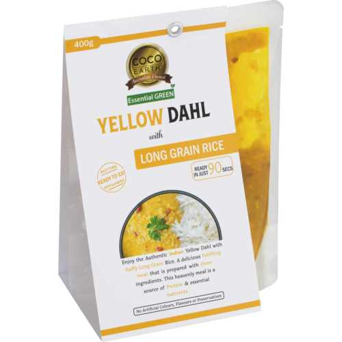 Yellow Dahl with Rice Meal 400g