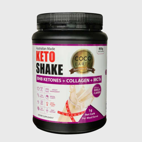 Vanilla Keto Shake BHB ,Collagen, MCT & more